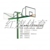 HQ-A10B方管埋地篮球架